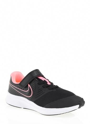 Nike Unisex Çocuk Siyah Spor Ayakkabı AT1801 - 002 NIKE STAR RUNNER 2 (PSV) Siyah